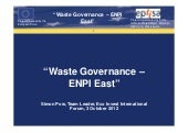 Simon Pow. Waste Governance – ENPI ...