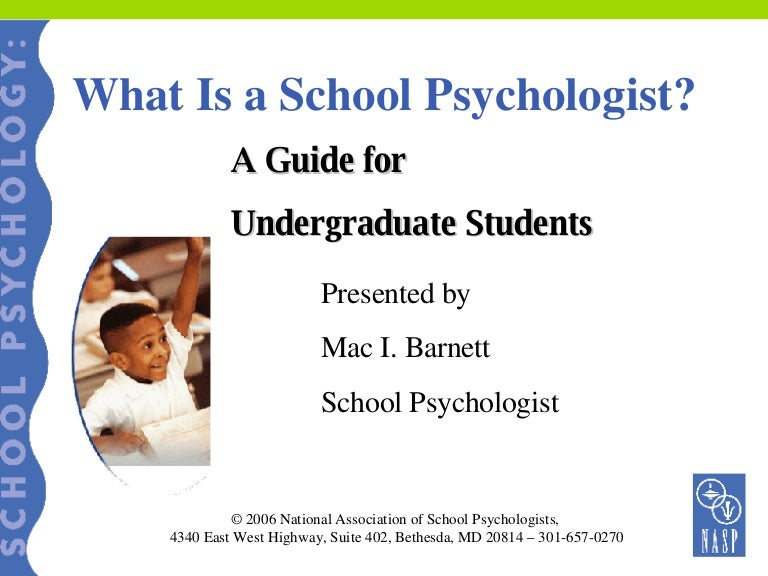 School Psychology school subects