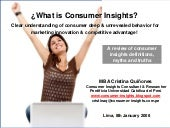 Consumer Insights: Revealing the tr...