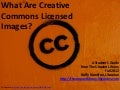 What Are Creative Commons Licensed Images? A Student's Guide  from The Unquiet Library