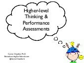 What are performance assessments?
