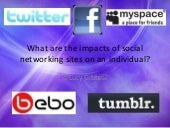 What are the impacts of social netw...