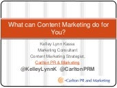 What can content marketing do for you?