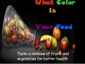 What color is your food
