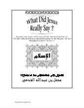 What did jesus_really_say