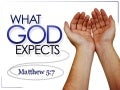 What God Expects