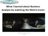 What i learned about business analy...