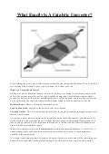 What is a catalytic converter wdl