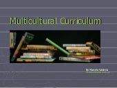 What is a Multicultural Curriculum
