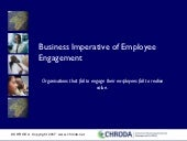 Business Imperative of Employee Eng...