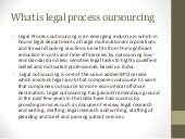 What is legal process outsourcing
