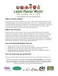 What is DC Local Flavor Week?
