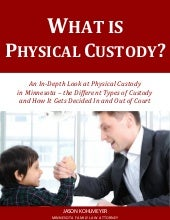What Is Physical Custody?
