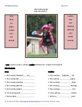 ESL Helpful Handouts-What Is She We...