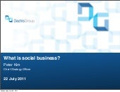 What issocialbusiness(dachis) 1