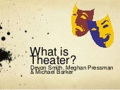 What Is Theater