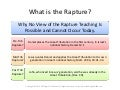 What is the Rapture?
