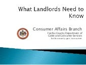 What Landlords Need To Know In Fair...