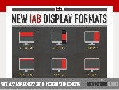 What Marketers Need to Know About New IAB Display Advertising Formats
