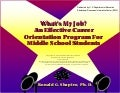 What's My Job? An Effective Career Orientation Program For Middle School Students