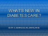 Whats New in Diabetes