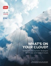 White Paper: What's on Your Cloud? ...