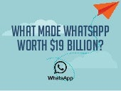What Made WhatsApp Worth $19 Billion?