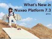 What's New in Nuxeo Platform 7.3