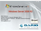 Windows 2008 R2 Overview