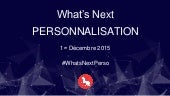 What's Next Personnalisation