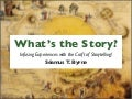 What's the Story? Infusing experiences with the craft of storytelling