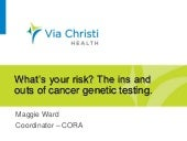 Cancer: What's your risk?
