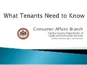 What Tenants Need To Know In Fairfa...