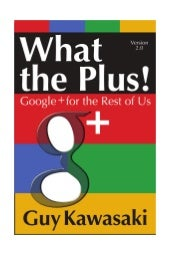What theplus - Google+ For the Rest...