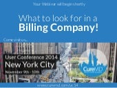 What to Look For in a Billing Company