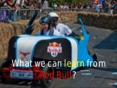 What we can learn from Red Bull
