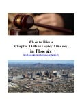 When to Hire a Chapter 13 Bankruptcy Attorney in Phoenix