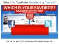 Which Do You Prefer Facebook or Twitter? Which Is Better?