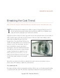 White paper  breaking the cost trend6 5-11
