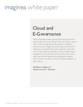 Whitepaper Cloud Egovernance Imaginea