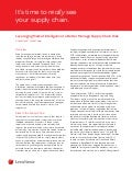 Whitepaper: Leveraging Market Intelligence to Better Manage Supply Chain Risk