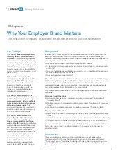 Whitepaper - Why your employer bran...