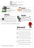 Tom's TEFL: Who Am I? Worksheet