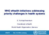 Who Ehealth Strategy