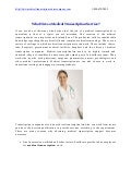 Who hires medical transcription service
