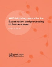 WHO Human Semen Analysis 5th ed