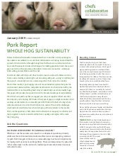Whole hog sustainability chefs coll...