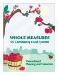 Whole Measures for Community Food Systems: Values-Based Planning and Evaluation