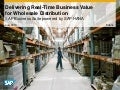 Delivering Real-Time Business Value for Wholesale Distribution