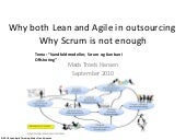 Why both scrum and lean in dist dev 07092010